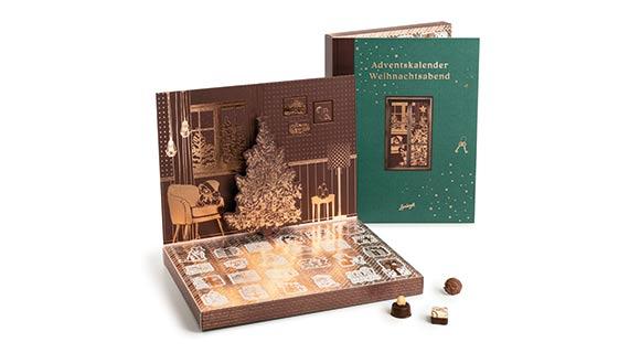 Calendrier De Lavent Personnalise Entreprise.Cadeaux De Noel D Entreprise En Chocolat